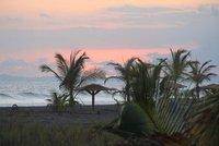 Sunset at Playa de Barqueta