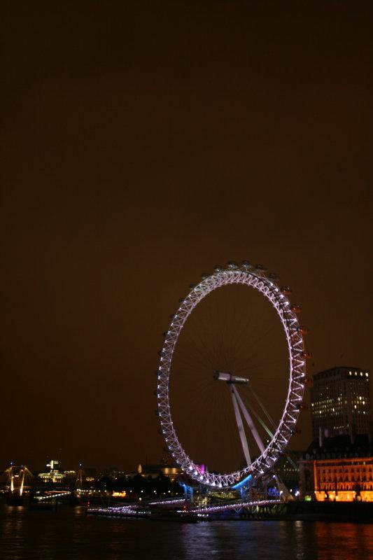London Eye @ Night
