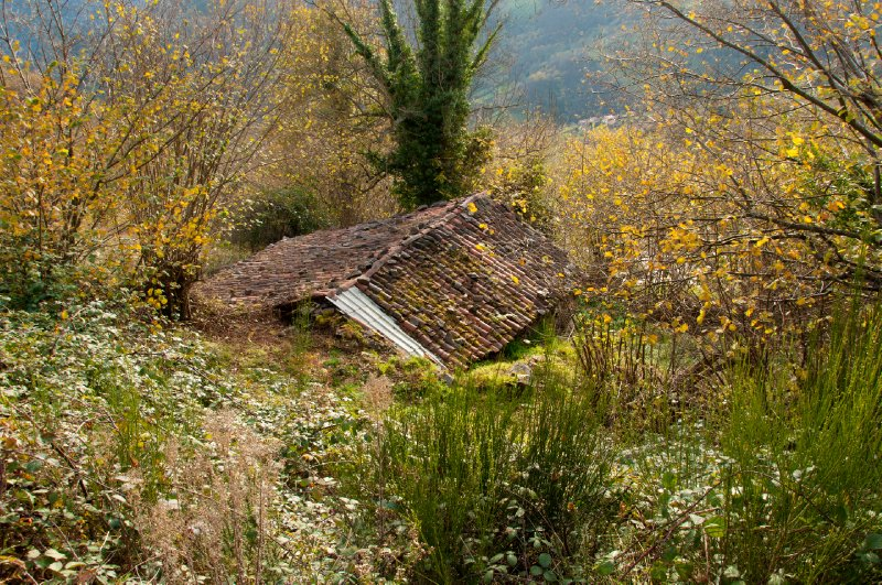 Abandoned pasture house on the mountains of Banduxu (Bandujo)