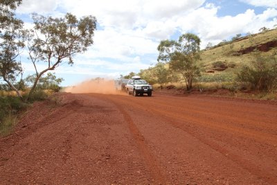 Red dust in the Pilbara