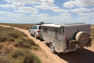 4WD track from Ningaloo to Cape Range National Park