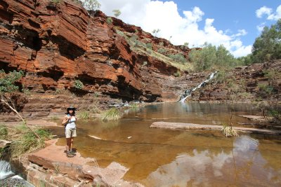 Hiking Dales Gorge, Karijini NP