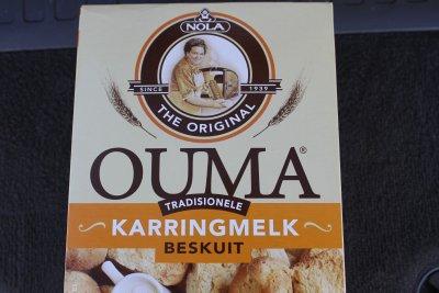 Ouma Beskuit in die Outback