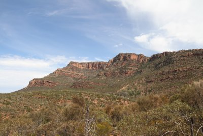 Wilpena Pound south-eastern face