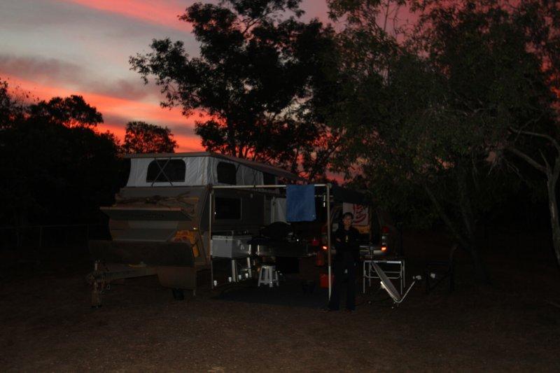Muirella campsite