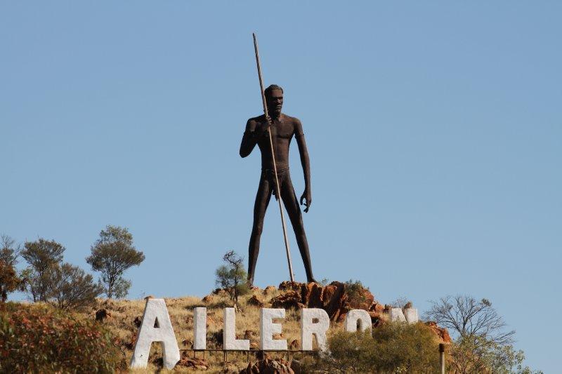 Aileron statue