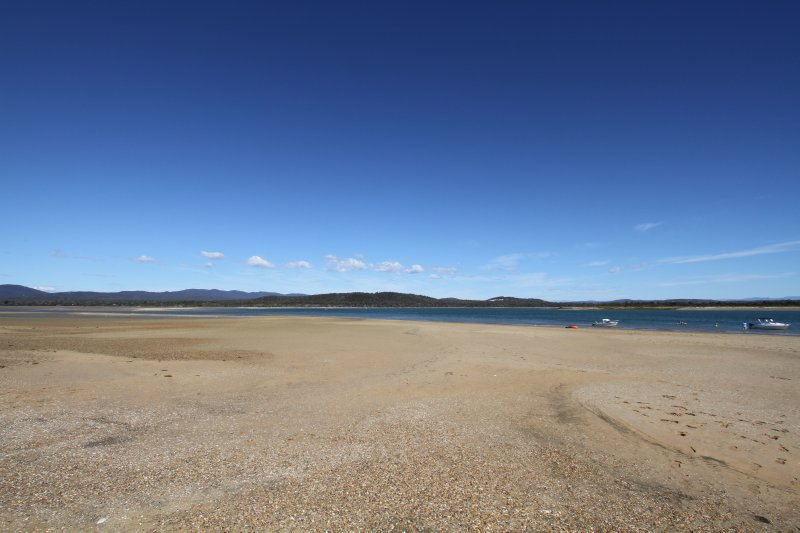 Port Sorell at low tide