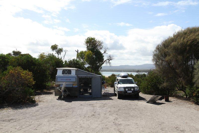 Baker Point campsite