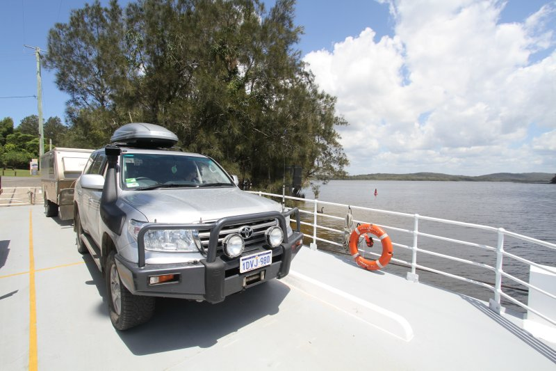 Bombah ferry