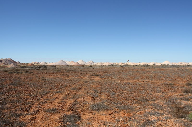 Coober Pedy mine dumps