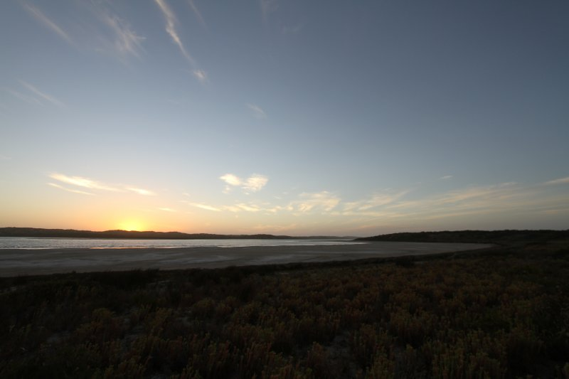 Coorong sunset