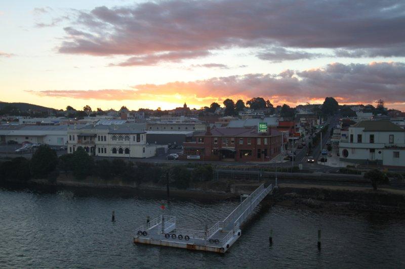 Devonport at dusk