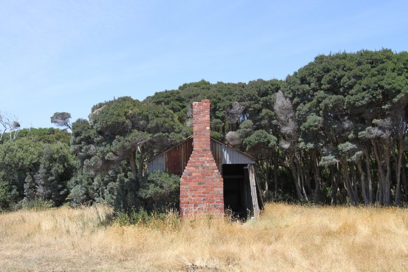 Drover's hut at Rebecca Creek