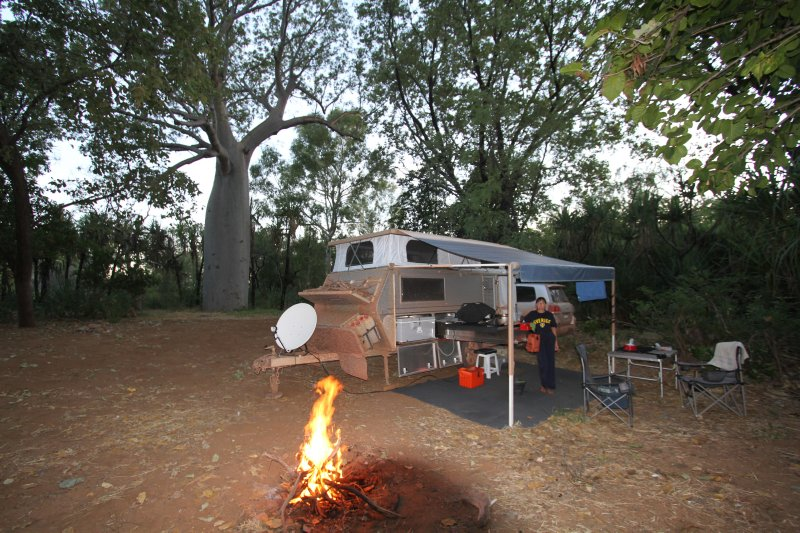 El Questro camping