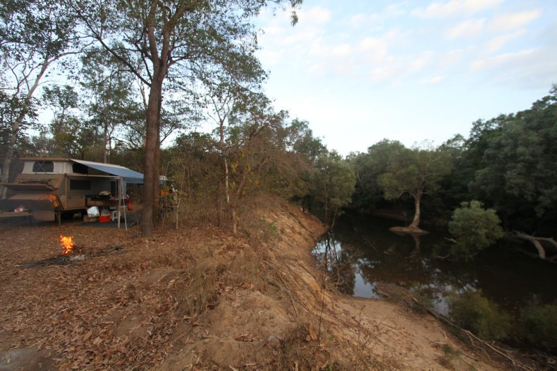 First Coen River campsite