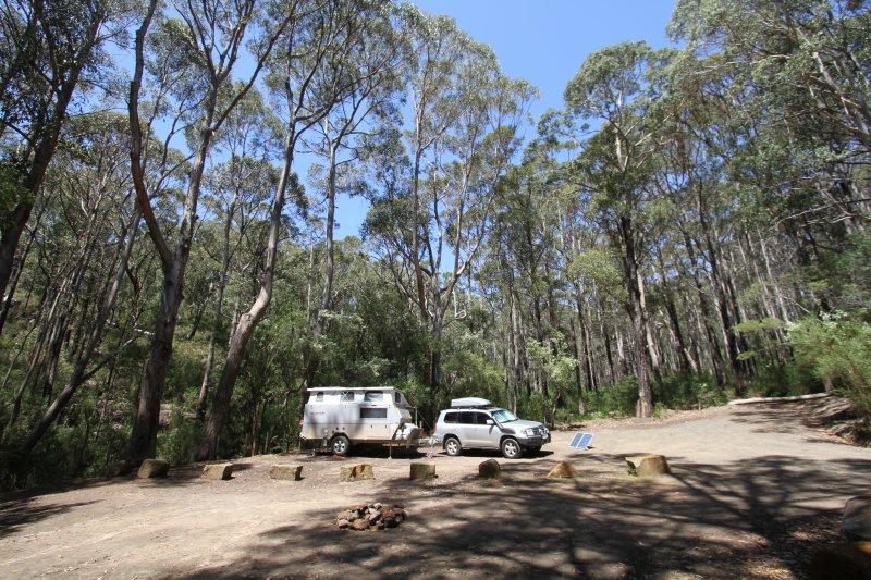 Fortesque Bay campground