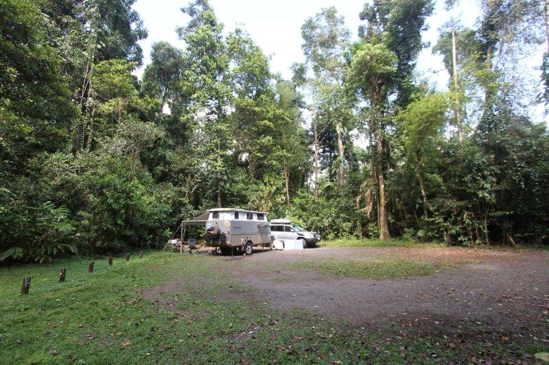 Henrietta Creek campsite