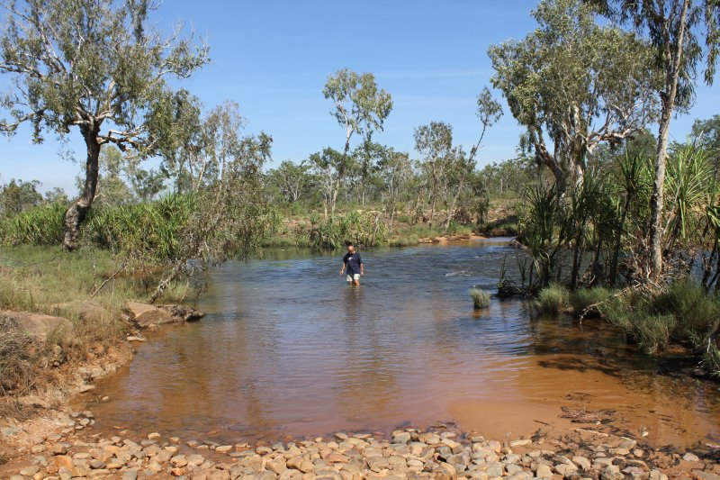 Testing the King Edward River Crossing