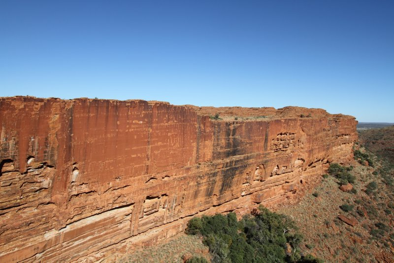Kings Canyon southern rock face