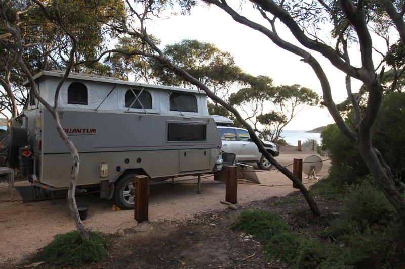 Memory Cove campsite