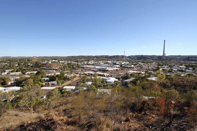 Mt Isa town
