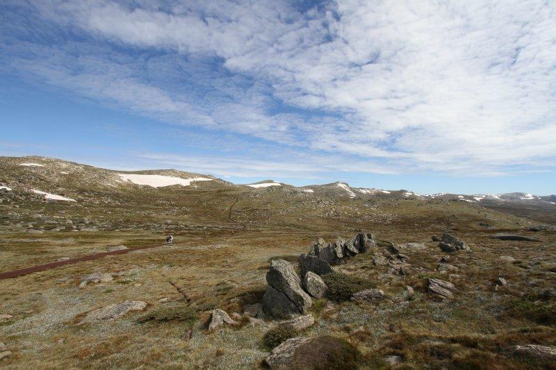 Mt Koskiuszko view