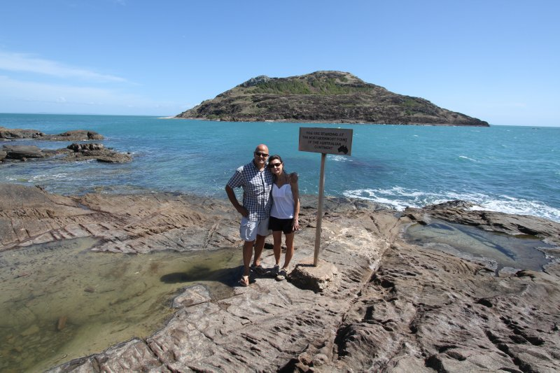 Northernmost point of Australia at Cape York, Queensland