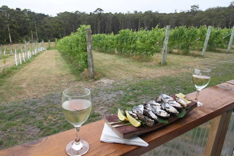 Oysters and Chardonnay