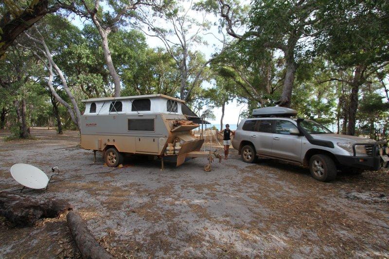 Punsand Bay campsite