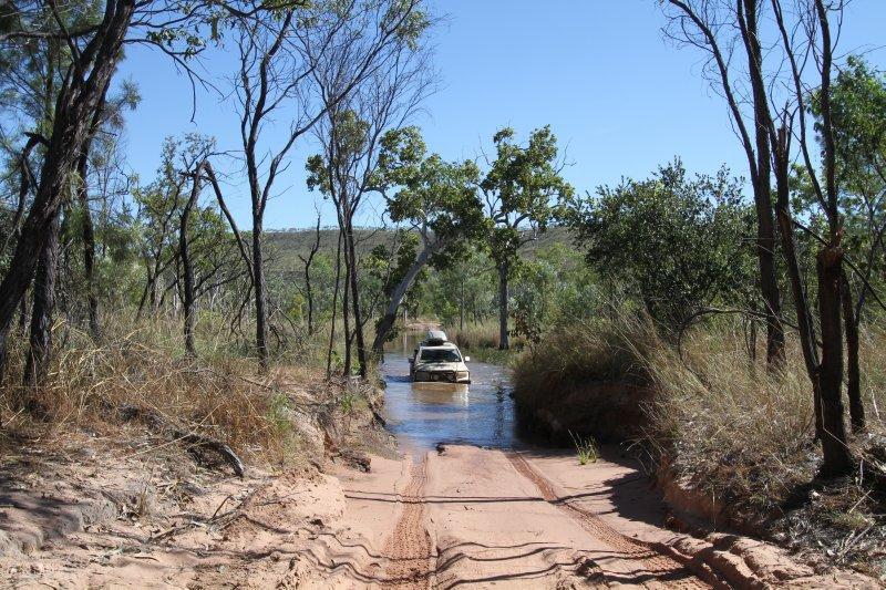 River crossing at El Questro