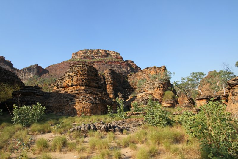 Rock formations in Keep River NP