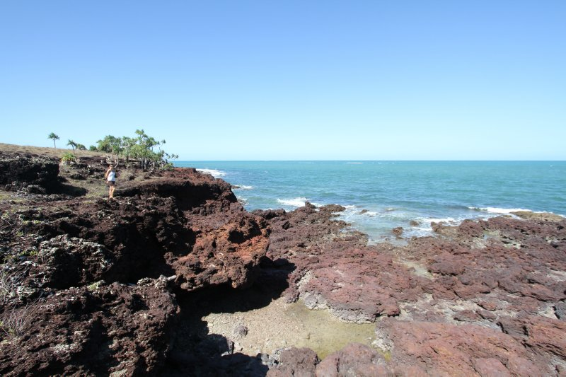 Rugged east coast of Cape York