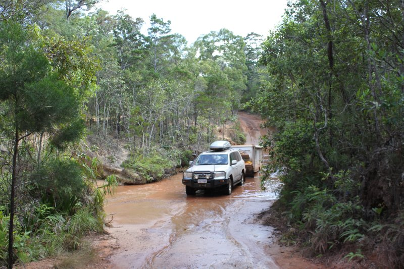 Scrubby Creek Crossing on the Old Telegraph Track