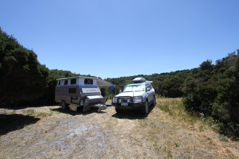 Stinking Beach campsite