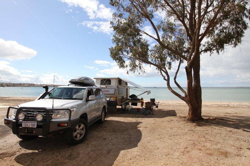 Streaky Bay campsite