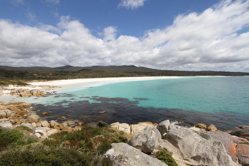Swimcart Beach on the Bay of Fires