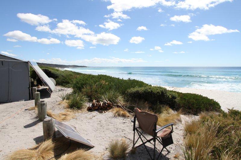 Swimcart Beach campsite