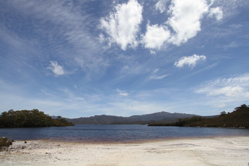 Teds Beach Lake Pedder