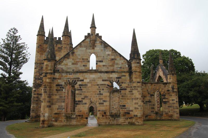 The Church at Port Arthur