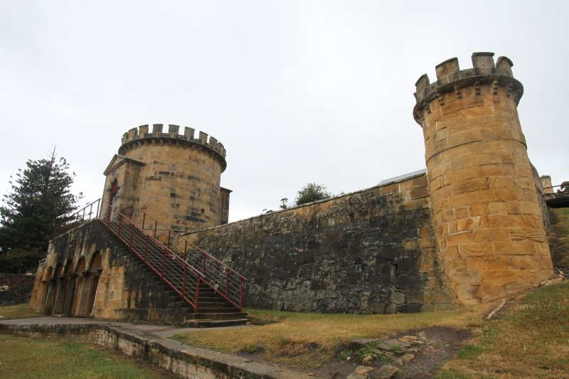 The Guard Tower at Port Arthur