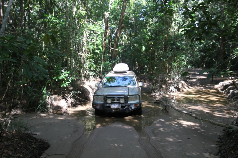 Tip of Cape York 4WD track