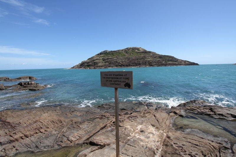 Northenmost point on the Australian continent
