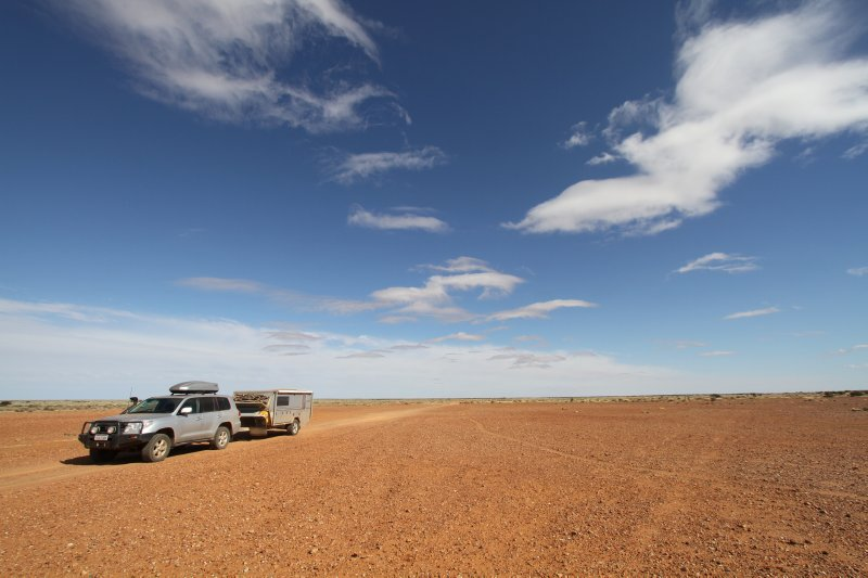 Track to Lake Eyre