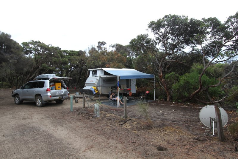 West Bay campsite