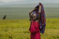 Maasai Woman near Serengeti Gate, Ngorongoro Conservation Area 2
