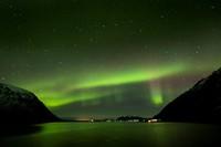 Northern Lights over Morfjorden 2