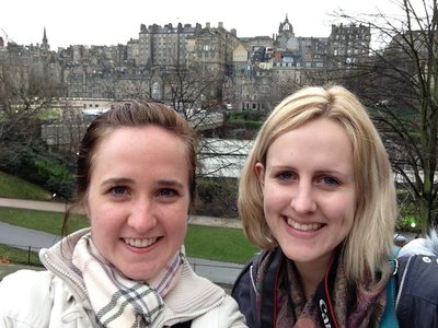 Selfie in Edinburgh