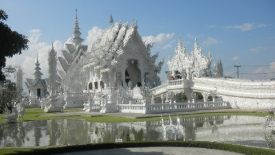 The White Temple at Chang Rai