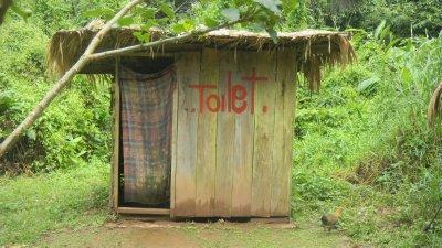 local toilet stop