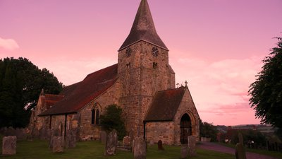 Burwash Parish Church, East Sussex